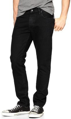 Gap 1969 Authentic Skinny Fit Jeans (Black Wash)