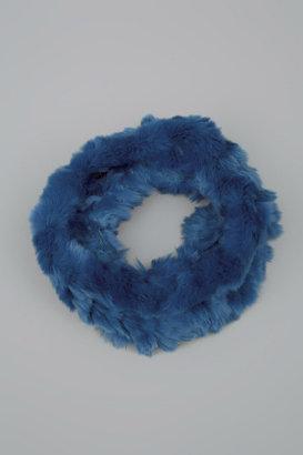 525 America Fur Snood Teal