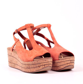 Sixty Seven Sixtyseven Aroania Flat Form T-Strap Orange