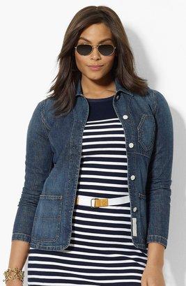 Lauren Ralph Lauren Denim Jacket (Plus Size) 3X