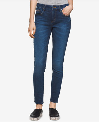 Calvin Klein Jeans Curvy-Fit Skinny Jeans $69.50 thestylecure.com
