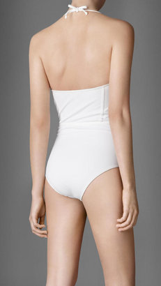 Burberry Corset Detail Swimsuit