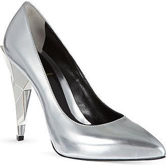 Fendi Diamond court shoes