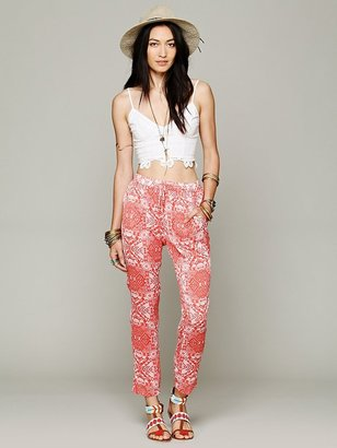 Free People Chaser Brand Coral Gardens Pant