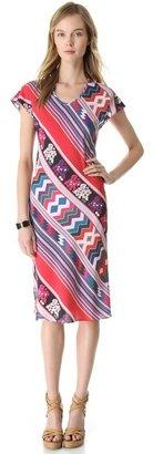 Carolina K. V Neck Dress