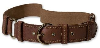 Coldwater Creek Double ring slung belt