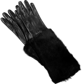 D&G Lapin trim gloves