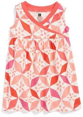Tea Collection 'Rabat Tile' Faux Wrap Dress (Toddler Girls)