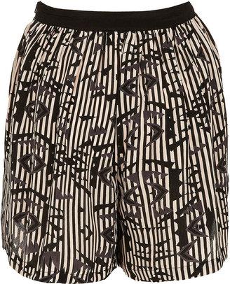 Topshop Ikat Printed Culotte Shorts