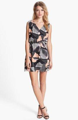 Parker 'Karen' Silk Blouson Dress