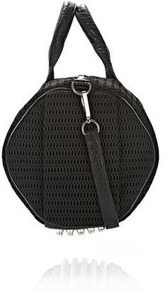Alexander Wang Rocco In Mesh Black With Rhodium