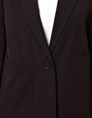 Asos Blazer with Oversized Pockets