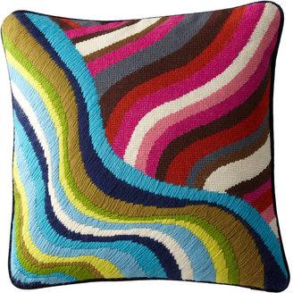 Jonathan Adler Hand-Embroidered Bargello Pillows