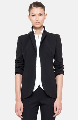 Akris 'Pentagon' Double Face Wool Jacket