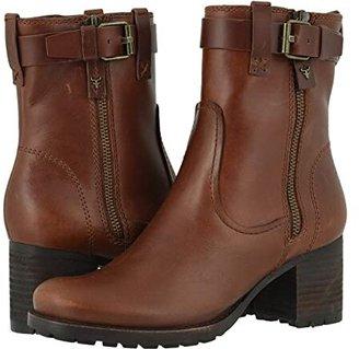 Trask Madison (Tan Wateproof Italian Calfskin) Women's Boots