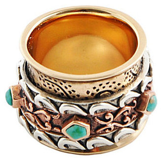 Barse Roulette Mixed Media Ring