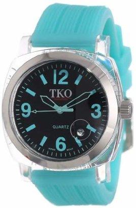 TKO ORLOGI Women's TK549-TT Unisex Milano Remixed Turquoise Watch