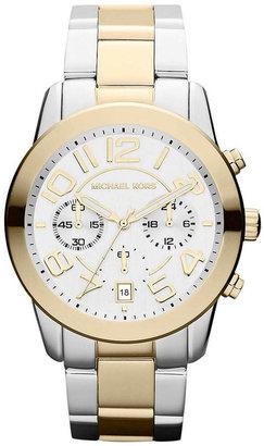 Michael Kors Ladies' Two-Tone Chronograph Watch