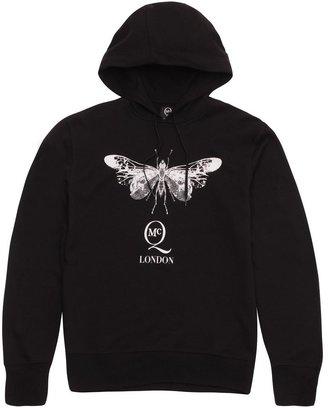 McQ by Alexander McQueen Black Skeleton Fly Hoody