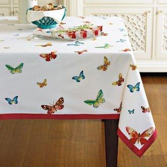 Williams-Sonoma Butterfly Print Tablecloth