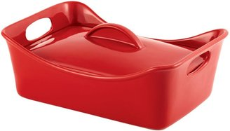 Rachael Ray 3.5 Qt. Covered Rectangle Casserole-Red