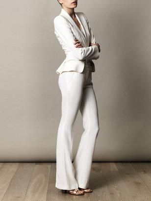 Alexander McQueen Victorian peplum shawl-collar jacket