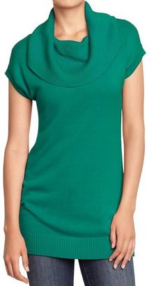 Old Navy Women's Cowl-Neck Tunic Sweaters