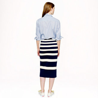 J.Crew Collection stripe skirt