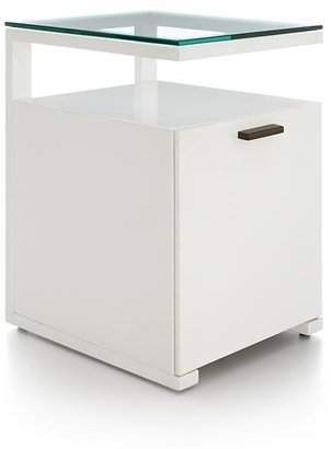 Crate & Barrel Pilsen Salt Filing Cabinet