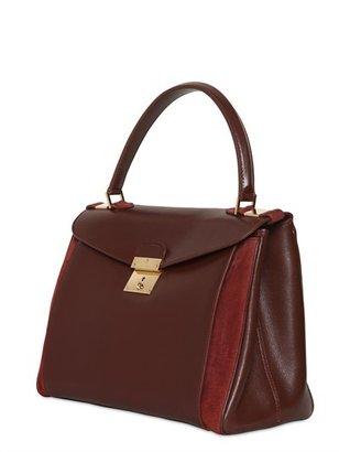 Marc Jacobs Metropolitan Shiny Leather Top Handle