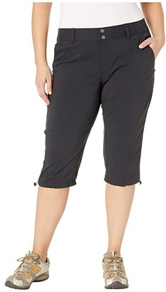 Columbia Plus Size Saturday Trailtm II Knee Pant (British Tan) Women's Capri