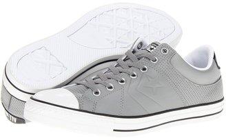 Converse Star Player Rise Ox (Phaeton Gray/Black/White) - Footwear