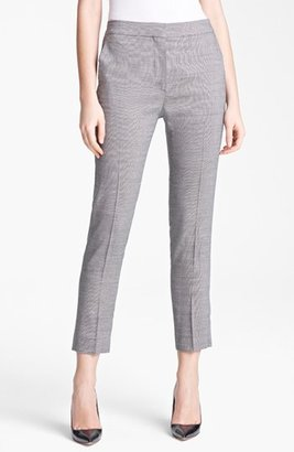Max Mara 'Vodka' Narrow Wool & Silk Crop Pants