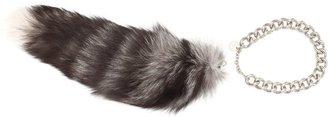 Alexander McQueen Fox Fur Scarf