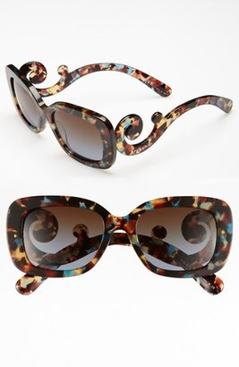 Prada 'Baroque' 54mm Sunglasses