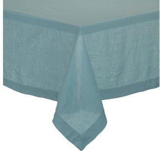 """Helena Aqua 60""""x120"""" Tablecloth"""