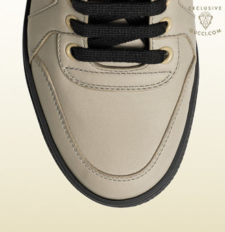 Gucci Women's High-Top Sneaker From Viaggio Collection