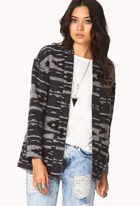 Forever 21 southwest bound open-front coat