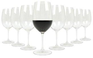 Riedel Set of 8 Vinum Bordeaux Red Wine Glasses Set