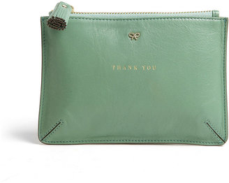 Anya Hindmarch Thank You Leather Coin Purse