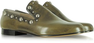 Marc Jacobs Studded Calf Leather Loafer