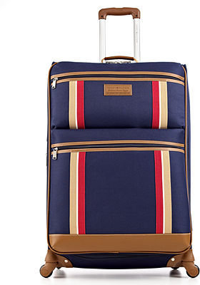 """CLOSEOUT! Tommy Hilfiger Scout 21"""" Carry On Spinner Suitcase"""