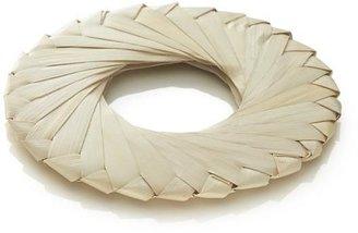 Crate & Barrel Tropic Palm Natural Napkin Ring