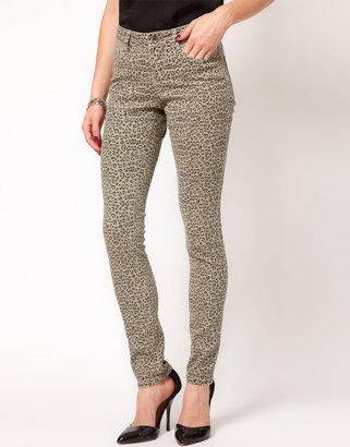 Asos Skinny Jeans in Animal Print