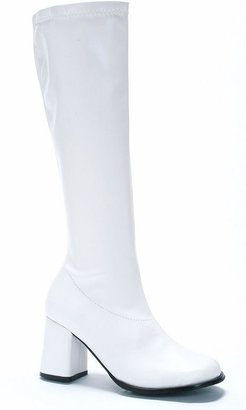 White Go-go Costume Boots - Adult $44.99 thestylecure.com
