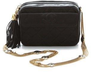 WGACA Vintage Chanel Silk Quilted Bag