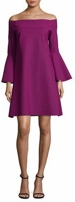 Chiara Boni Off-The-Shoulder Dress