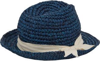 Hat Attack Twill Tape-Trim Fedora Hat