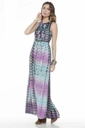 Lovers + Friends Kitty Cat Maxi Dress in Summer Tie Dye $219 thestylecure.com