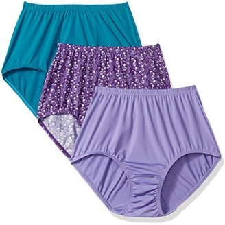 Olga Women's Without a Stitch Brief Panty Pack $8.46 thestylecure.com